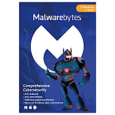 Malwarebytes Premium For 5 PC And