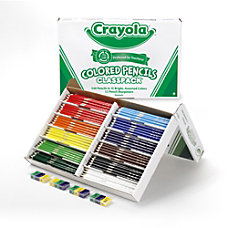 Crayola Classpack Color Pencils Set Of