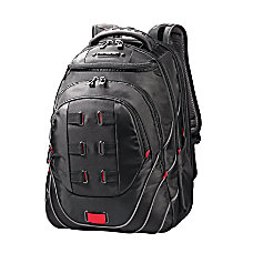 Samsonite Tectonic PerfectFit Laptop Backpack BlackRed