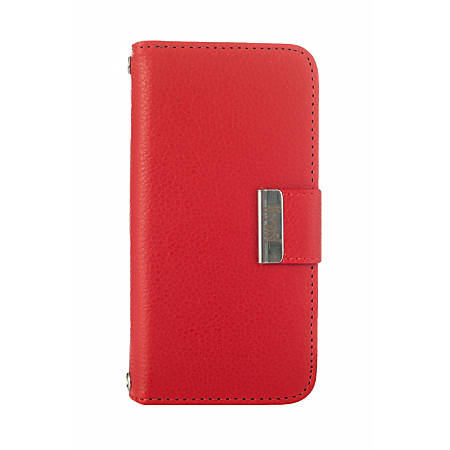 Kyasi Signature Wallet Case For Apple® iPhone® 6 Plus, Red Hot