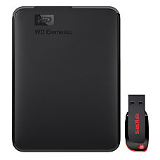 WD Elements 2TB External Hard Drive