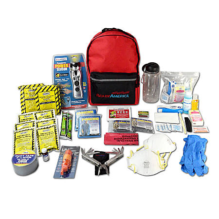 Ready America® 2-Person 3-Day Deluxe Emergency Kit
