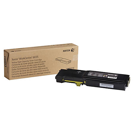 Xerox® High-Yield Toner Cartridge, Yellow, XER106R02746