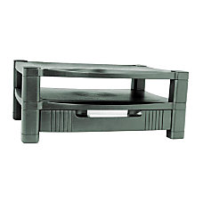 Kantek 2 Level Monitor Stand wDrawer