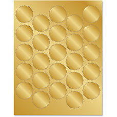 Geographics Gold Foil Seals 175 Diameter