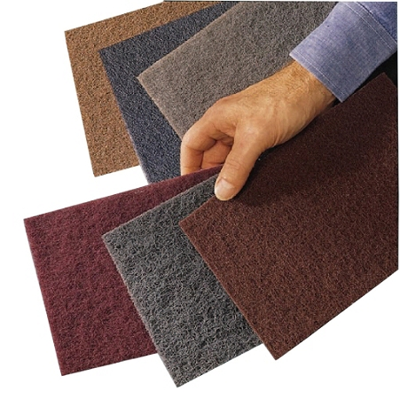 3M™ Scotch-Brite™ Hand Pad, Very Fine, Maroon, Case Of 60