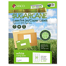 MACO LaserInk Jet FileCopier Sugarcane Address