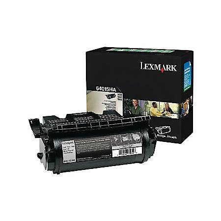 Lexmark™ 64415XA Return Program Extra-High-Yield Black Toner Cartridge