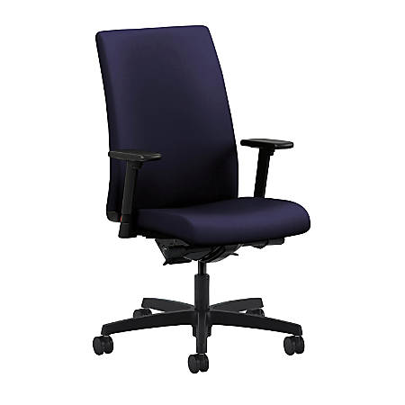 HON® Ignition® Mid-Back Task Chair, Navy