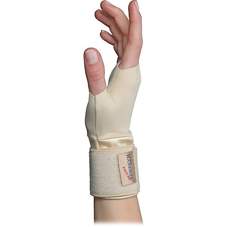 Dome Handeze Therapeutic Support Gloves, Small, Beige