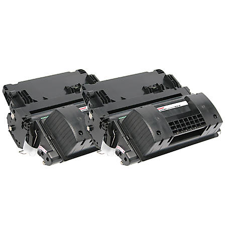 Office Depot® Brand OD64ADP Remanufactured Toner Cartridge Replacement For HP 64A Black, Pack Of 2