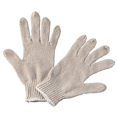 Boardwalk String Knit General-Purpose Gloves, Large, Pack Of 12 Pairs