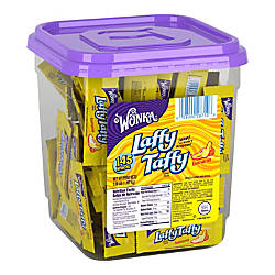 Laffy Taffy Tub Banana 48 Oz