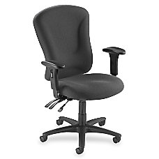 Lorell Accord Series Managerial Fabric Chair