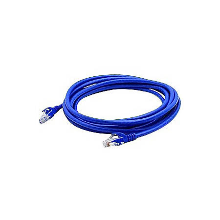 AddOn 10-pack of 3ft RJ-45 (Male) to RJ-45 (Male) Blue Cat6A UTP PVC Copper Patch Cables
