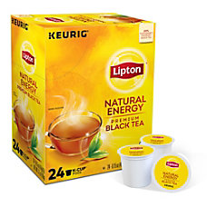 Lipton Natural Energy Tea Single Serve