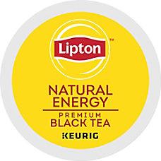 Lipton Natural Energy Tea K Cup