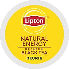 Lipton Natural Energy Tea Caffeinated Black