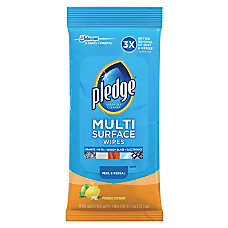 Pledge Multi Surface Cleaner Wipes Wipe