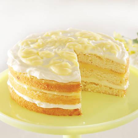 Sweet Street Desserts Lemonade Cake With Meyer Lemon Curd