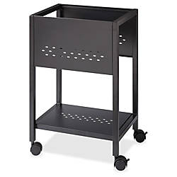 Lorell Perforated Mobile File Cart 18