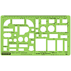 Staedtler Mars Template House Furnishings