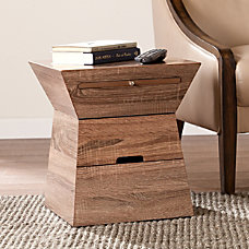 Southern Enterprises Dexter Geometric Storage Accent