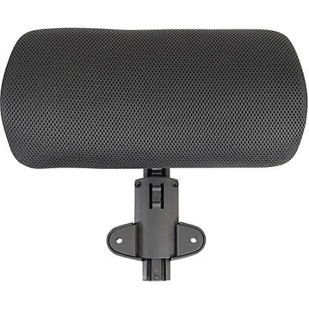 Lorell® Ergonomic Mesh Chair Headrest, Black