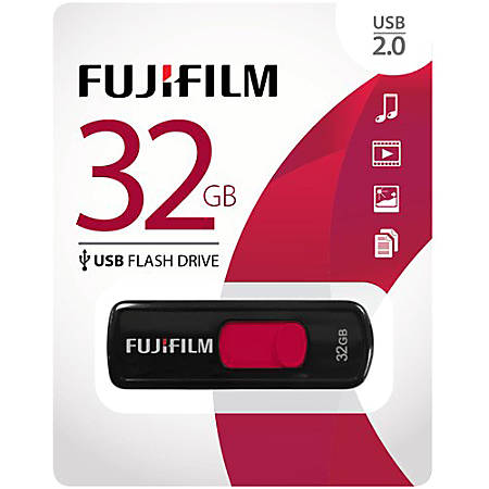 Fujifilm 32GB USB 2.0 Flash Drive - 32 GB - USB 2.0