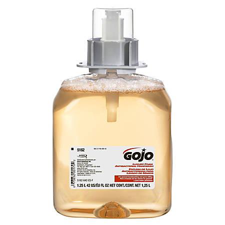 GOJO Antibacterial Foaming Soap Refill For FMX-12 Foam Soap Dispensers, Orange Blossom Scent, 42.3 Oz, Pack Of 3