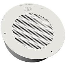 CyberData Speaker Signal White