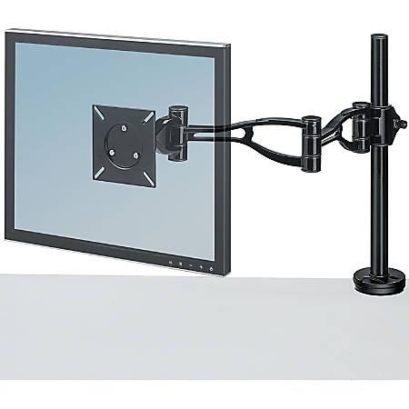 Fellowes® Adjustable Monitor Arm, Black