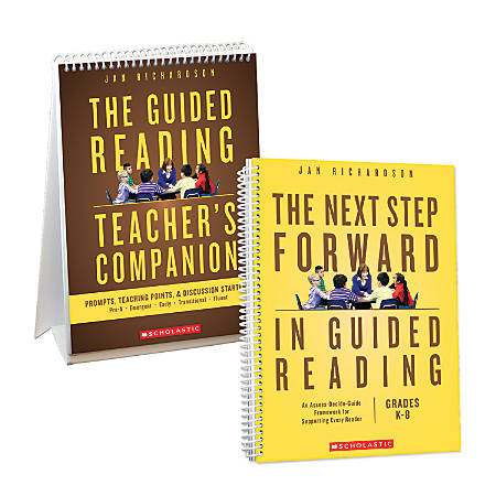 Scholastic The Next Step Forward in Guided Reading, With The Guided Reading Teacher's Companion, Kindergarten - Grade 8