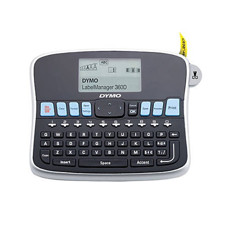 DYMO® LabelManager® 360D Rechargeable Desktop Label Maker