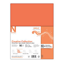 Neenah Brights Paper Letter Size Paper