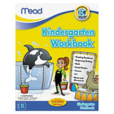 Mead Kindergarten Comprehensive Activities Workbk Education