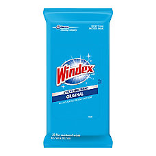 Windex Original GlassSurface Wipes Wipe 12