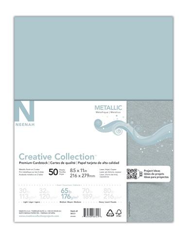 Creative Collection™ Metallic Specialty Card Stock, 8 1/2
