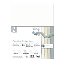 Neenah Creative Collection Metallic Midtone Card