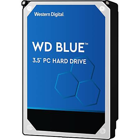 "WD Blue™ 2TB 3.5"" Internal Hard Drive For Desktops, 64MB Cache, SATA/600, WD20EZRZ"