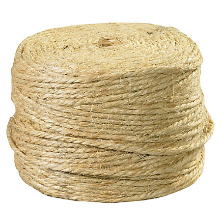 Office Depot® Brand Sisal Tying Twine, 3 Ply, 970', Natural