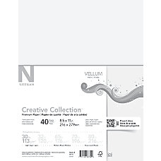 Neenah Creative Collection Paper Vellum Letter
