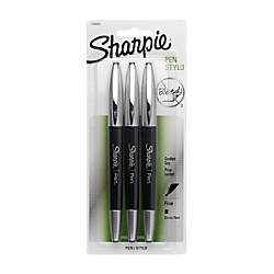 Sharpie Soft Grip Pens Fine Point