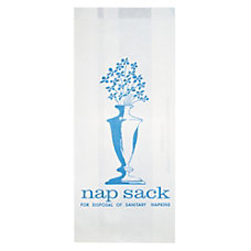 Bagcraft Nap Sack Sanitary Disposal Bags