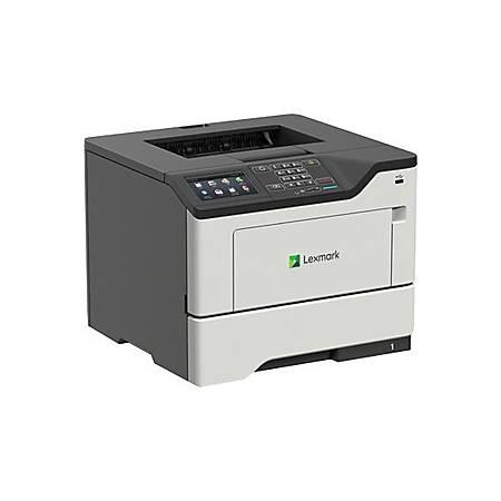 Lexmark MS620 MS622de Laser Printer - Monochrome - TAA Compliant - 50 ppm Mono - 1200 x 1200 dpi Print - Automatic Duplex Print - 650 Sheets Input