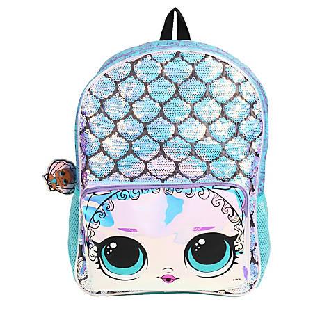 LOL Surprise! Mermaid Backpack, Blue