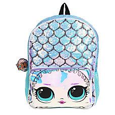 LOL Surprise Mermaid Backpack Blue