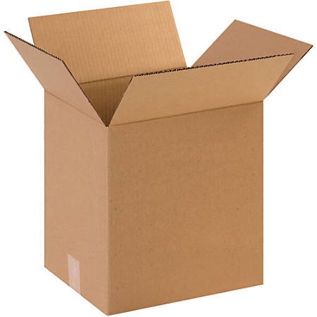 """Office Depot® Brand Corrugated Boxes, 16""""H x 12""""W x 16""""D, 15% Recycled, Kraft, Bundle Of 25"""