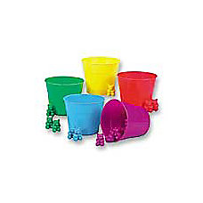 Eureka Counting Bears With Matching Cups