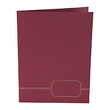 Oxford Monogram Executive Twin Pocket Portfolios